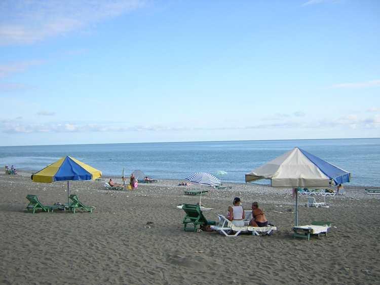 Пансионат литфонд пляж